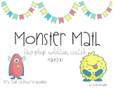 First Grade Addition Center- Monster Math Making 10