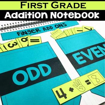 1st Grade Math Notebook:  Addition
