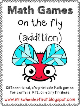 First Grade Addition Math Games