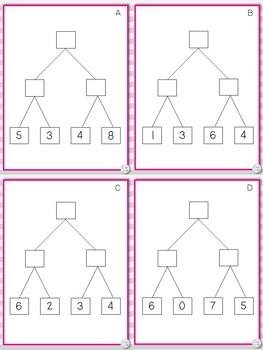 Number Bond Math Games