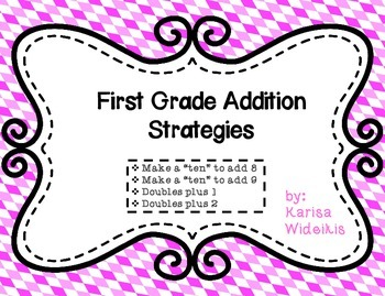 First Grade Addition Strategies