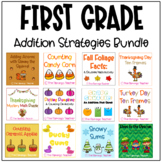 First Grade Addition Strategies Bundle (Chapter 3 Go Math