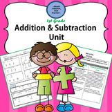 First Grade Addition & Subtraction Unit Kit