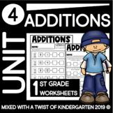 First Grade Addition UNIT THREE