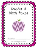 First Grade Advanced Math Boxes: Everyday Math Chapter 6