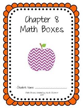 First Grade Advanced Math Boxes: Everyday Math Chapter 8