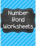 Number Bonds Worksheets