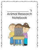 First Grade Animal Research Notebook!