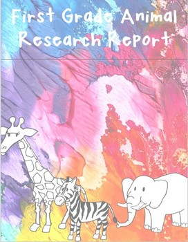 First Grade Animal Research Report
