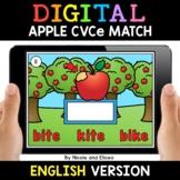 Apple Digital CVCe Word Work for Google Classroom 2 - Dist