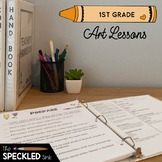First Grade Art Lessons. A Year of Curriculum. Art Lesson Plans & Worksheets.