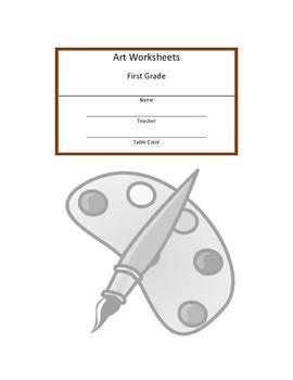 First Grade Art Workbook
