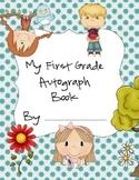 First Grade Autograph Book