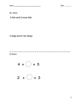 First Grade B.Y.A- Beginning of Year Assessment
