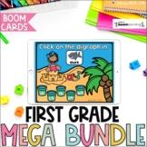 First Grade BOOM Cards™ Mega Bundle | Digital Task Cards