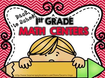 First Grade: BTS Math Centers
