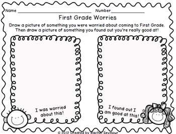 Night Before First Grade- Back to School Pack by ABSeymour | TpT