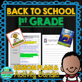 First Grade Back to School Lessons Bilingual - Spanish Plans & Google Activities