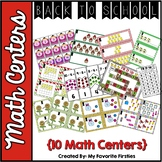 Back to School Math Centers August & September