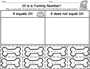 First Grade Back to School Math: Kindergarten Math Review