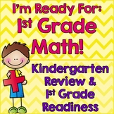 First Grade Back to School Math: Kindergarten Math Review