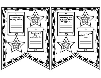 First Grade Back to School Pennant Banner