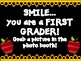 First Grade Back to School Photo Booth 2017