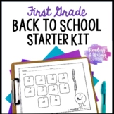 First Grade Back to School