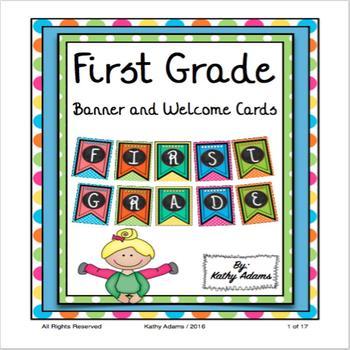 First Grade Banner