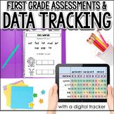 First Grade Customizable Baseline Assessment: RTI & Progress Monitoring