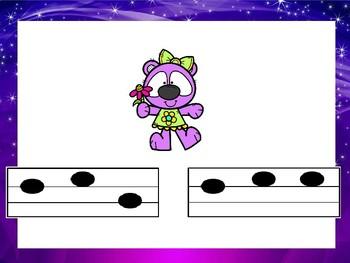 First Grade Bears Music Review: Sol Mi La and Ta TiTi