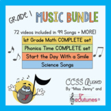 First Grade Beginning of the Year Music Bundle!