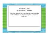 First Grade Bell Work Activities