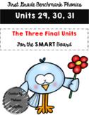 First Grade Benchmark Phonics Units 29-31