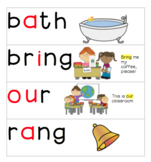 First Grade Benchmark Spelling Cards Units 1-10
