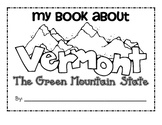 First Grade Book About Vermont