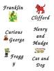 First Grade Book Bin Labels
