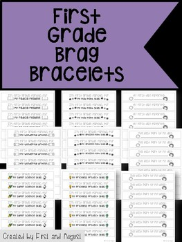 First Grade Brag Bracelets