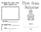 First Grade / Buddy Memory Book