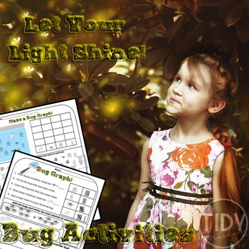First Grade Printable Activities (Addition, Graphing, & Writing)