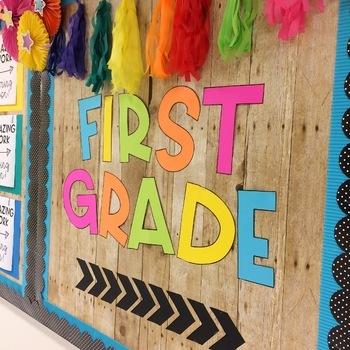 First Grade Bulletin Board Kit