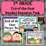 First Grade Bundled Resource Pack (End of the Year Memory
