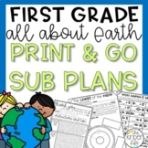 Earth Day First Grade Sub Plans April