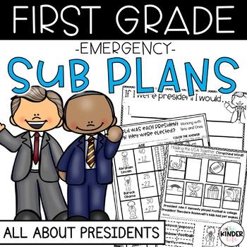 "First Grade C.C. Aligned February ""Presidents"" Print&Go Su"