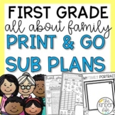 September First Grade Emergency Sub Plans Family