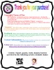"""First Grade CCSS """"I Can"""" Poster Bundle - Neon Polka Dots"""