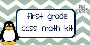 First Grade CCSS Math Kit