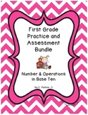 First Grade CCSS Number & Operations Practice & Assessment