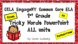1st Grade CKLA Core Knowledge EngageNY Tricky Words PowerPoint FREEBIE