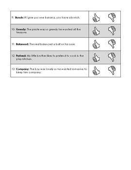 First Grade CKLA Domain 1 Fables and Folktales Alternative Assessment